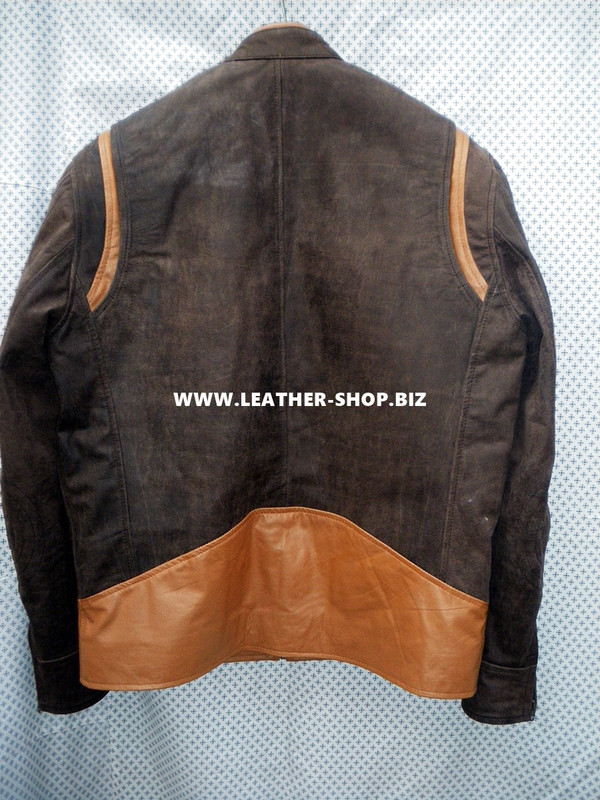 X-Men replica leather jackets back picture
