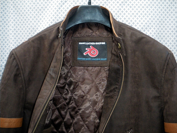 X-Men replica leather jackets MLJ166W for sale, collar picture