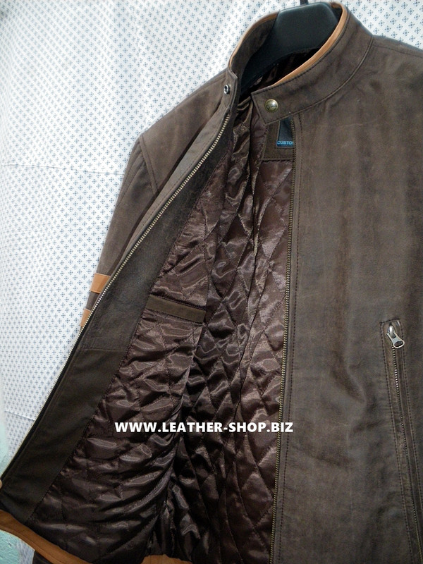 X-Men replica leather jackets MLJ166W for sale right inside pocket picture
