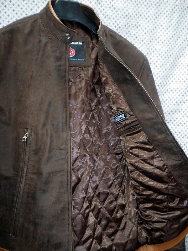 X-Men replica leather jackets MLJ166W for sale left inside pocket picture