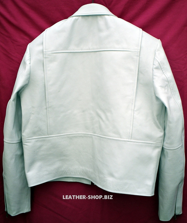 Leather Jacket Style MLJ135 Custom Made Available In 9 Colors