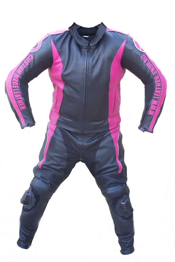 leather motorcycle suit style LS0010 custom made LEATHER-SHOP.BIZ front pic
