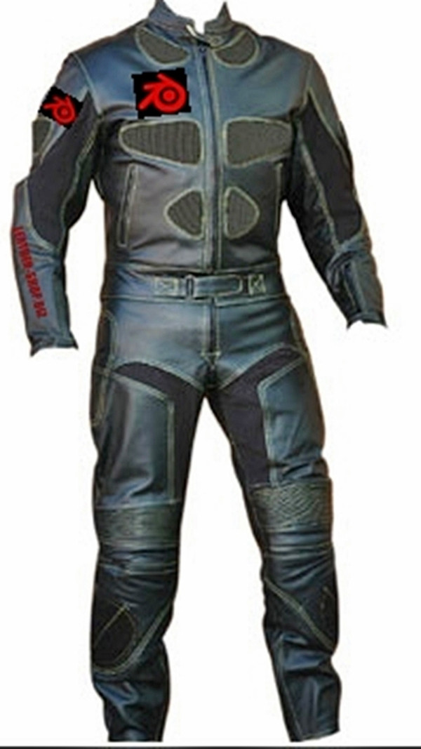 motorcycle suit style MS0040LS WWW.LEATHER-SHOP.BIZ front and back pic