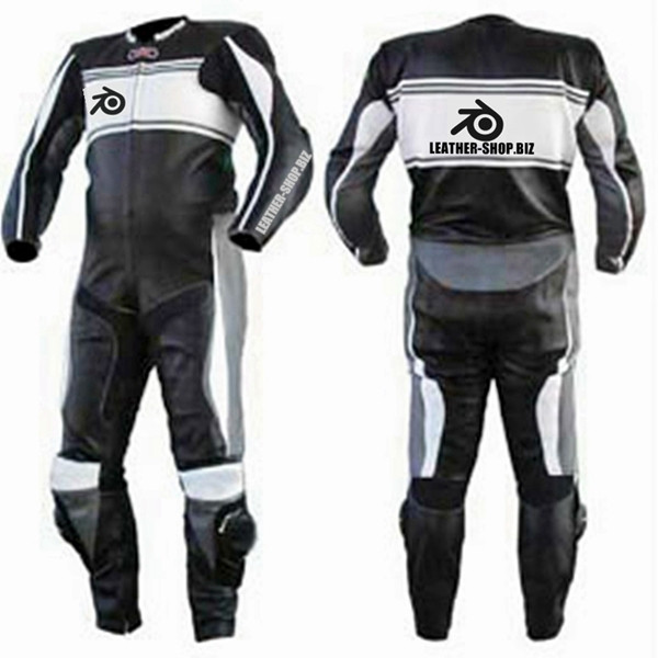 Motorcycle suits for sale shown is style MS0044LS front and back of suit picture