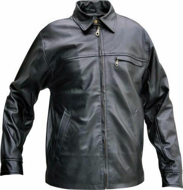 Kožna košulja stil LS119 www.leather-shop.biz ispred slike