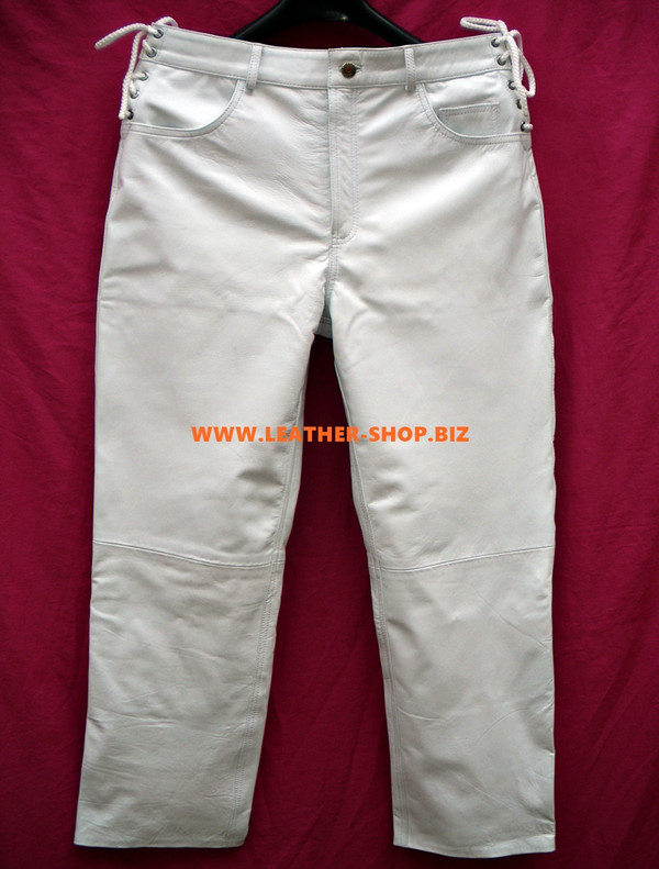 Mens Leather Pants Jean Style MLP1142