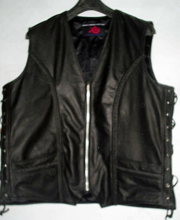 Nahast vesti stiil MLV1359 www.leather-shop.biz esipilt