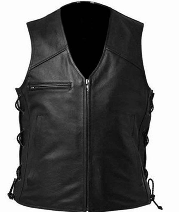 Kožená vesta Style WLV1202 k dispozici v barvách 8