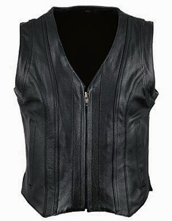 Vlastní kožená vesta Style WLV1241