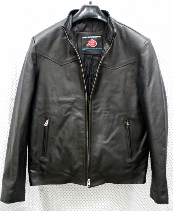 Leather Jacket Style MLJ258 Custom Made Available In 8 Colors