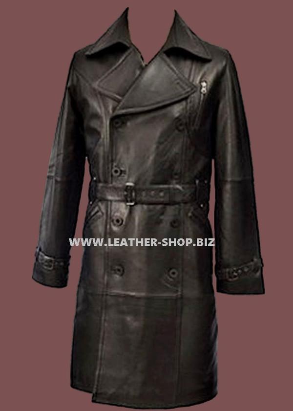 Leder langer Mantel nach Maß Art MLC520 WWW.LEATHER-SHOP.BIZ vorderes picture.jpg