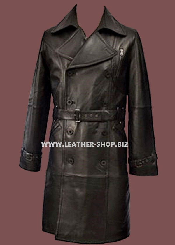 Leather Long Coat Custom Made Style MLC520 WWW.LEATHER-SHOP.BIZ front picture.jpg