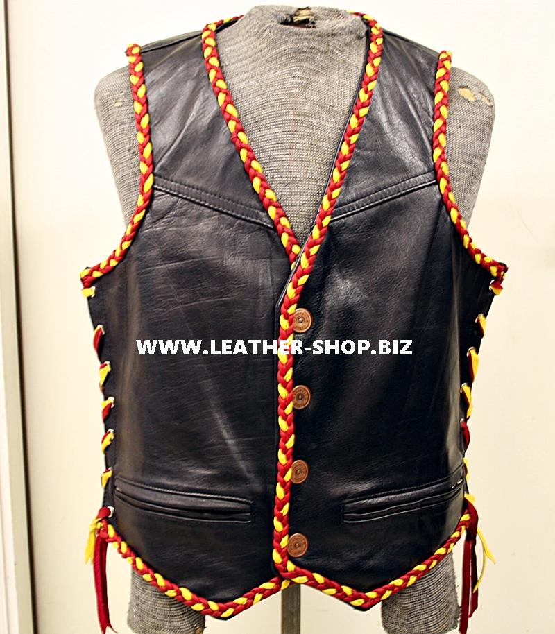 hynder-leder-vest-mei-braid-oanpast-makke-styl-mlv250-www.leather-shop.biz-front-pic.jpg