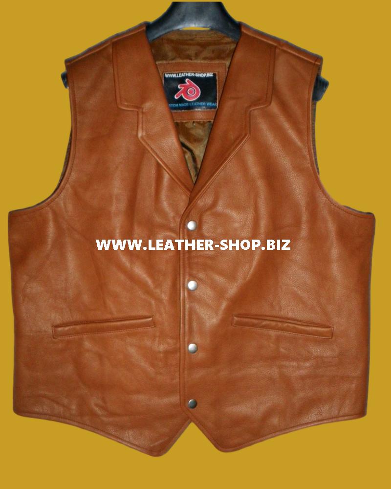 Мъжко кожено-жилетка-западен стил-mlv84-светлокафяв-показано-www.leathershopworldwide.com-предно pic.png