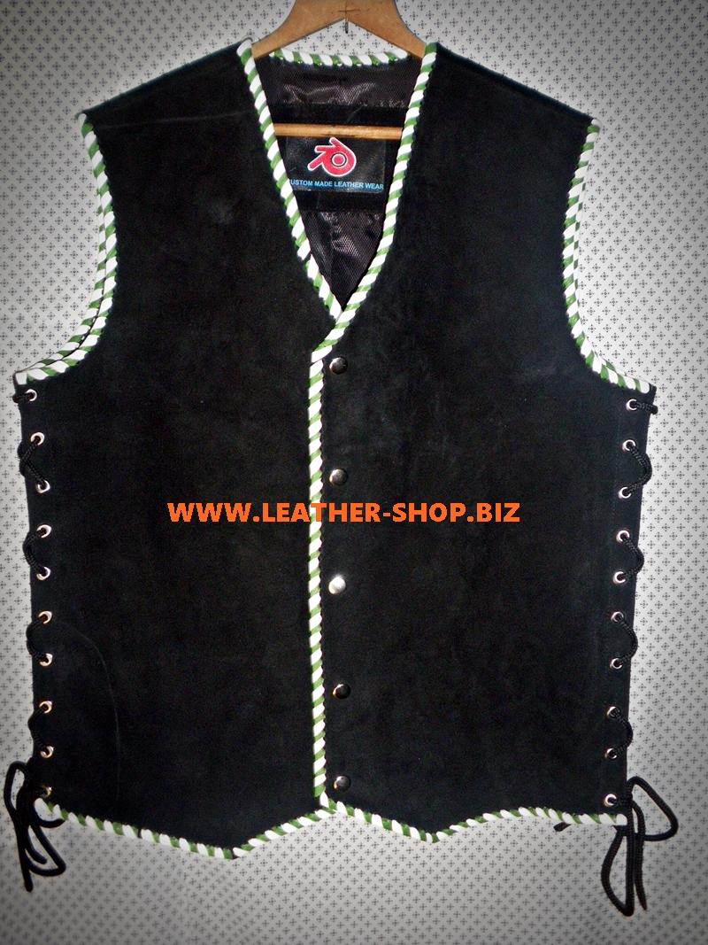 suede-nahk-vest-eritellimusel valmistatud stiil-mlv840b-roheline-valge-palmik-www.leather-shop.biz-front-pic.jpg