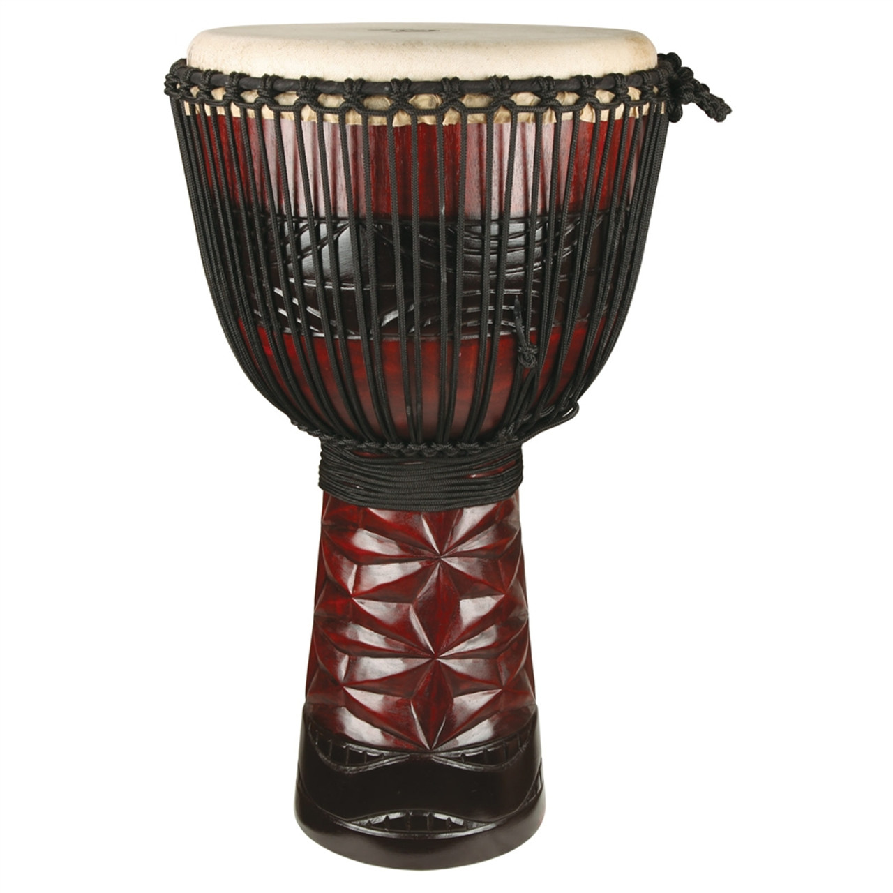 """10/"""" Genuine African Dundun Drum Set with free bell and 14/"""" drum heads. 12/"""""""