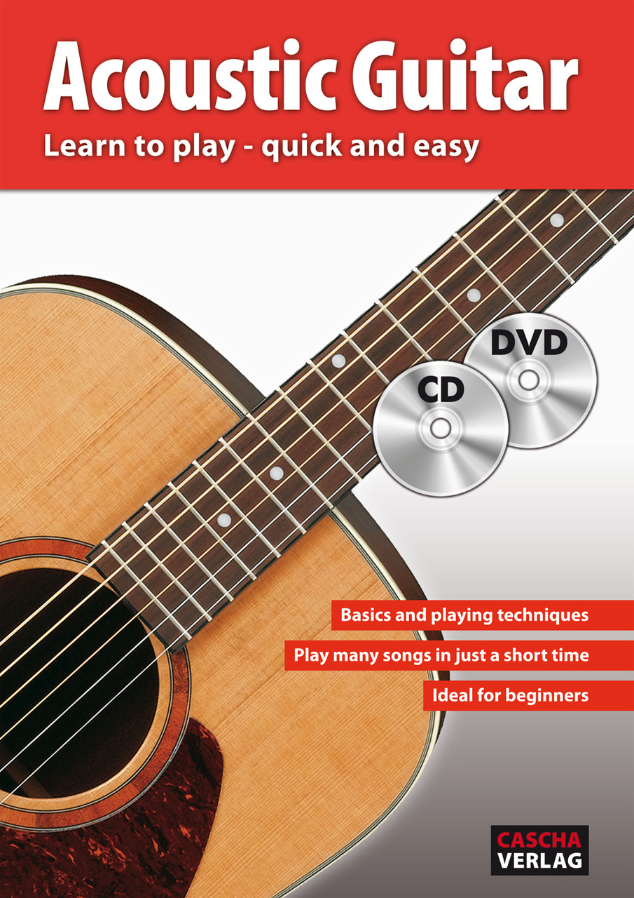 Learn how to play acoustic guitar dvd