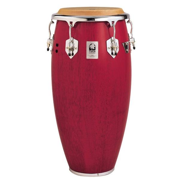 Toca 4611R Custom Deluxe 11 in. Quinto Conga Drum, Red