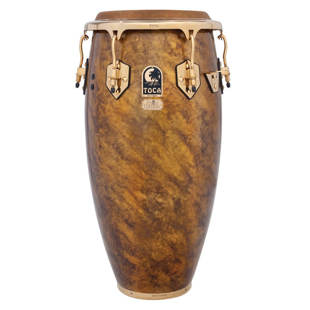 Toca Limited Edition 11-3/4 in. Conga, Sahara Gold