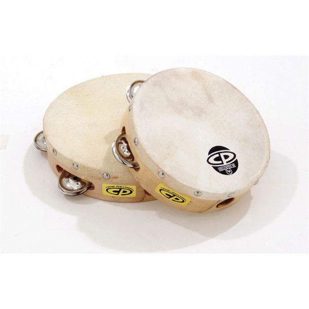 """CP Tambourine with Head, 8"""""""
