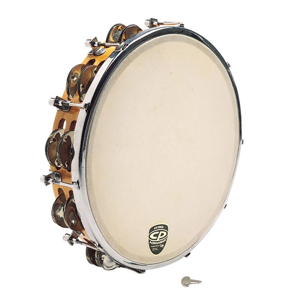 CP Tunable Tambourine - Wood