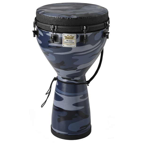 "Remo Designer Series Djembe, Key-Tuned, Camouflage Finish - 14""x25"""