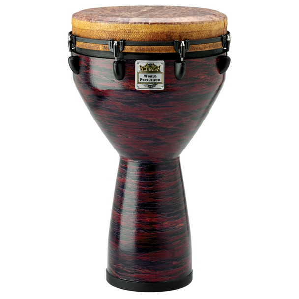 Remo Infinity Mondo Djembe: Eco-grain - Choco Red