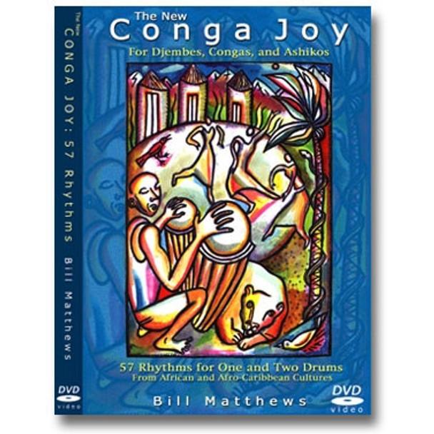 """Conga Joy Live!"" Hand Drum DVD"