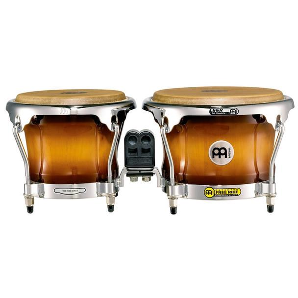 Meinl FWB400 Free Ride Series Wood Bongos - Gold Amber Sunburst