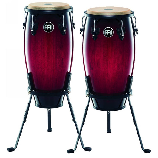 Meinl Headliner Series Wood Conga Set - Wine Red Burst