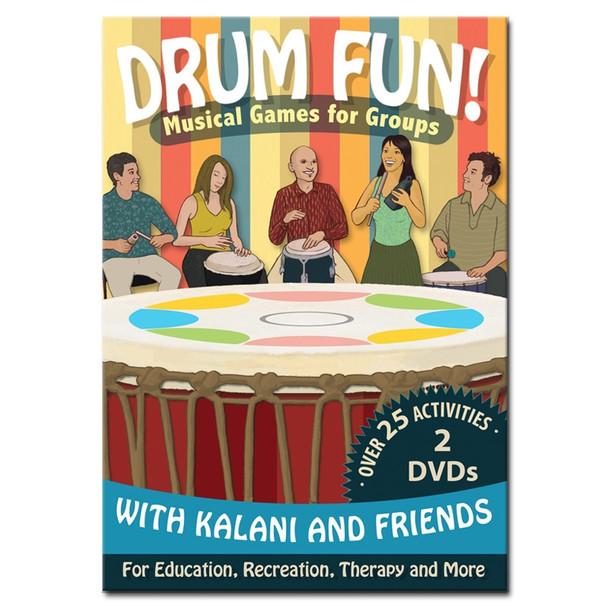 """""""Drum Fun!"""" 2-DVD Set by Kalani"""