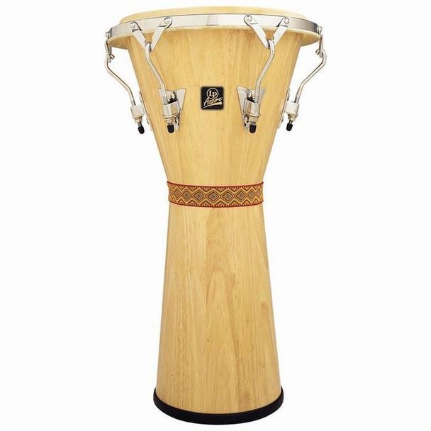 LP Aspire Tunable Djembe, Natural Wood