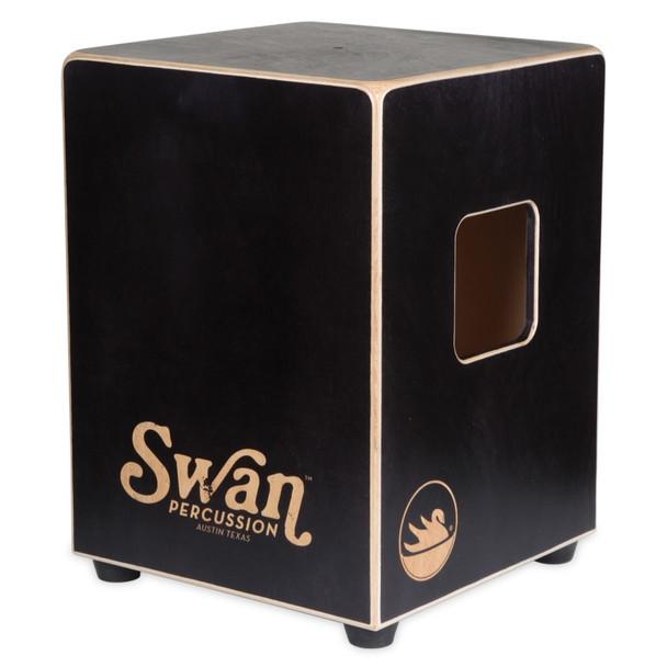 Swan Percussion Cygnet Cajon, Classic Black