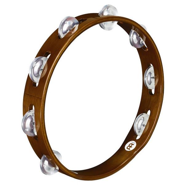 Meinl Wood Tambourine, Aluminum Jingles