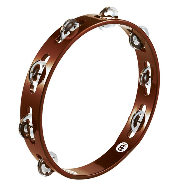 Meinl Wood Tambourine, Steel Jingles