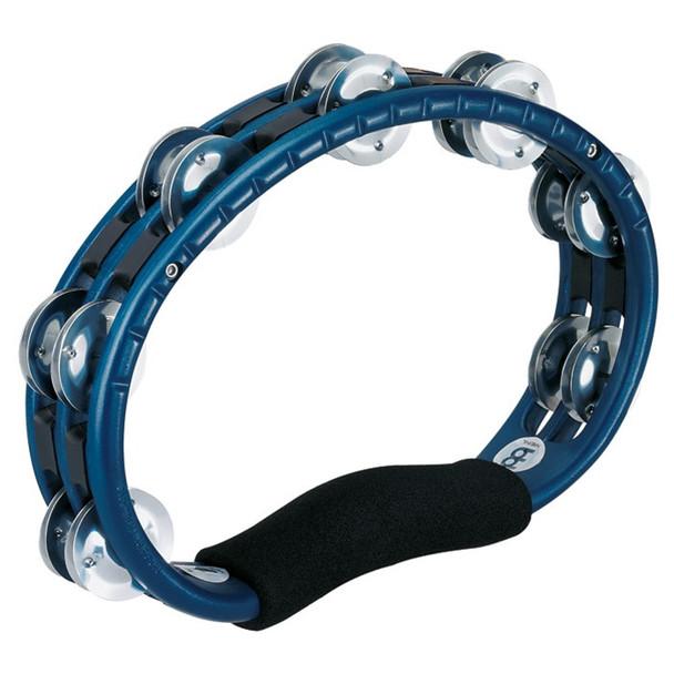 Meinl Percussion ABS Tambourine, Aluminium Jingles, Blue