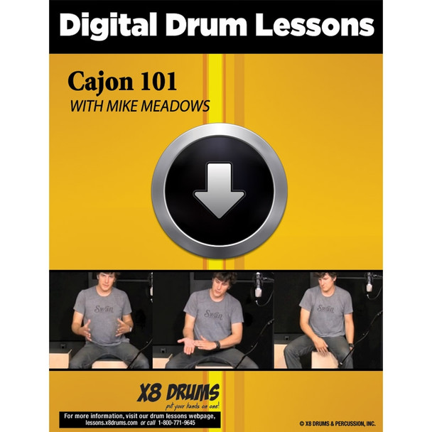 Drum Lesson Download: Cajon 101