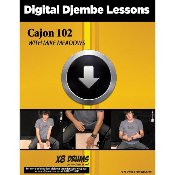 Drum Lesson Download: Cajon 102