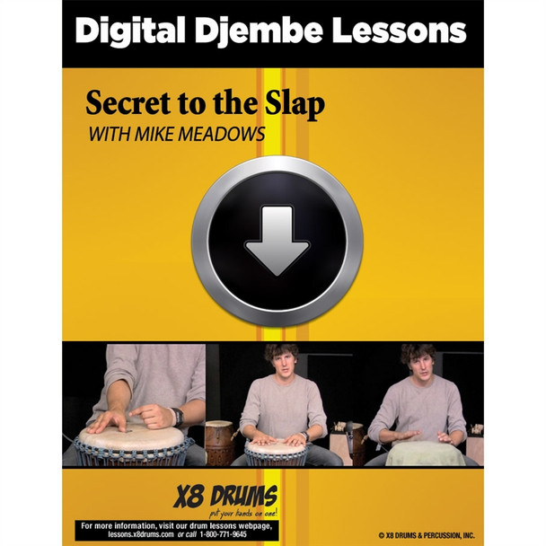 Drum Lesson Download: Secret to the Djembe Slap
