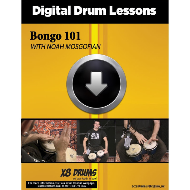 Drum Lesson Download: Bongo 101