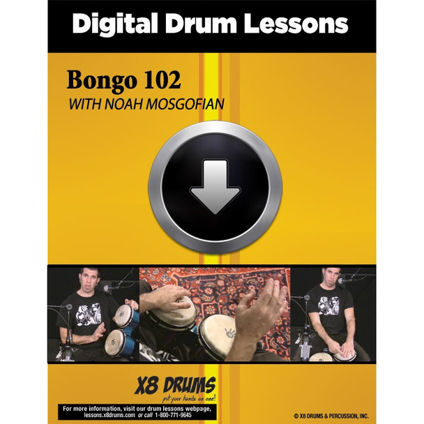 Drum Lesson Download: Bongo 102