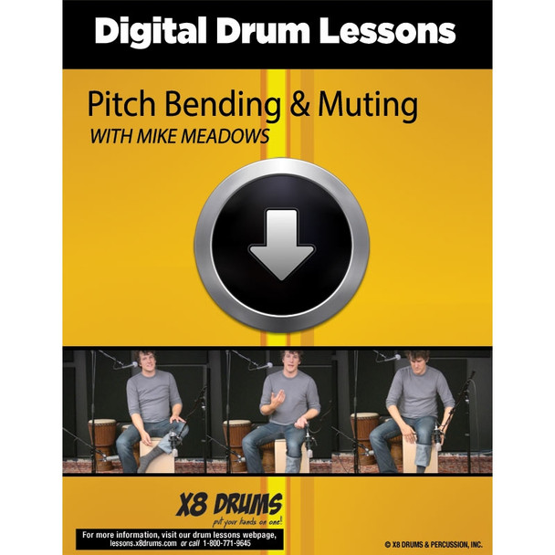 Drum Lesson Download: Pitch Bending & Muting on Cajon