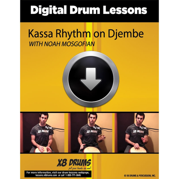 Drum Lesson Download: How to play Kassa on Djembe