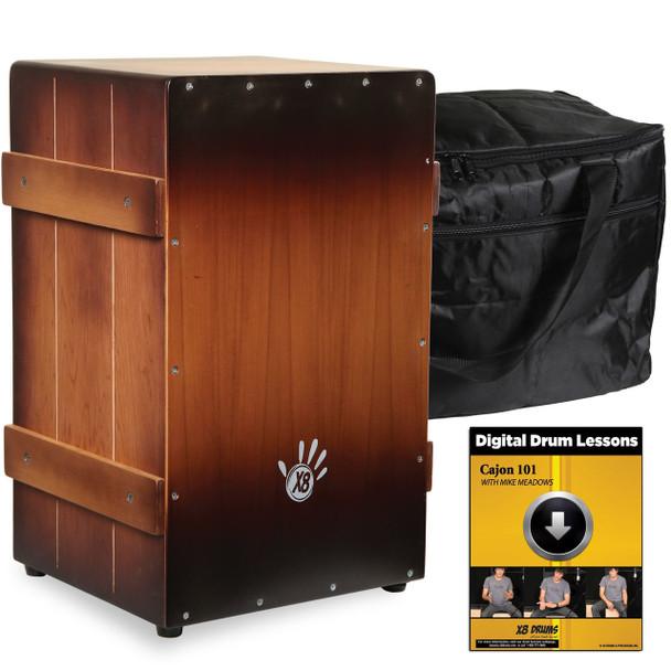 X8 Flamenco Crate Cajon