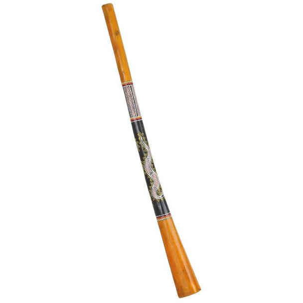 Gecko Painted Teak Wood Didgeridoo