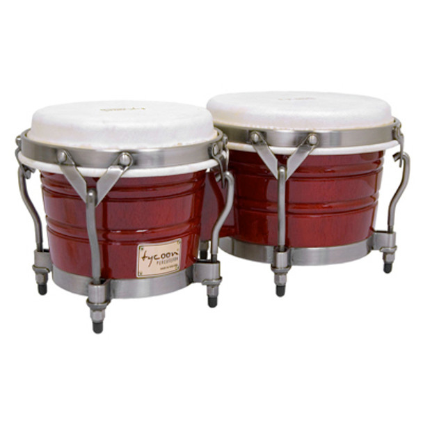 Tycoon Percussion Signature Classic Red Bongos