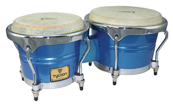 Tycoon Percussion Concerto Blue Spectrum Bongos