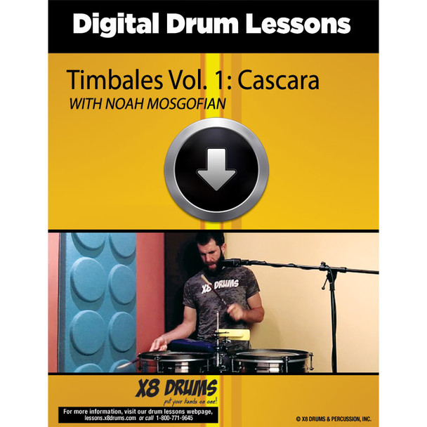 Lesson Download: Timbales Vol. 1: Cascara