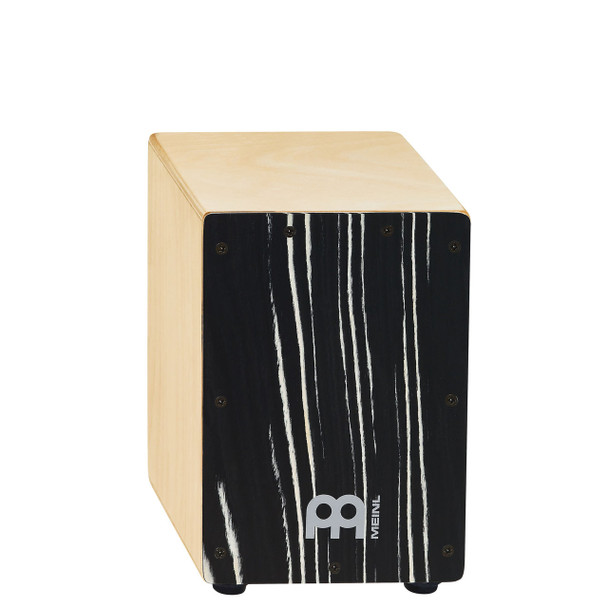 "Meinl Percussion Mini Cajon - Striped Onyx (8 3/4"" tall)"