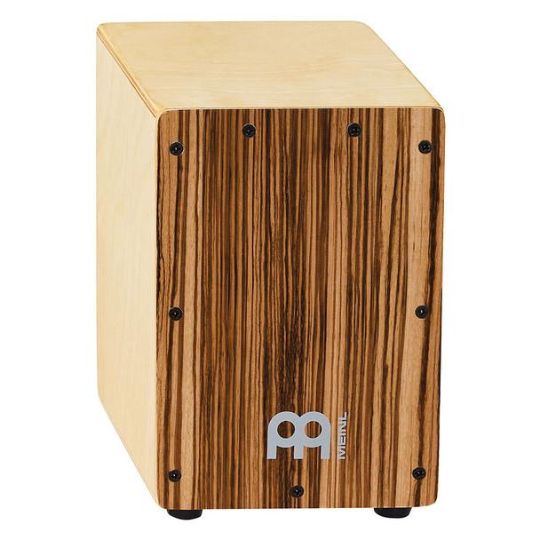 """Meinl Percussion Mini Cajon - Exotic Zebrano (8 3/4"""" tall)"""
